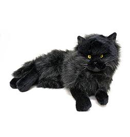 Bocchetta Plush Toys Cat Lying Soft Plush Toy - Onyx Medium