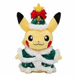 Pokemon Center Original Plush Toy Christmas 2017 Pikachu Lim