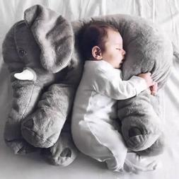 Children Baby Long Nose Large Elephant Doll Soft Plush Stuff