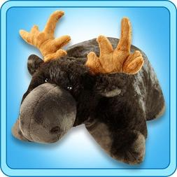 My Pillow Pet Chocolate Moose - Small 11 INCH  Soft Plush Cu