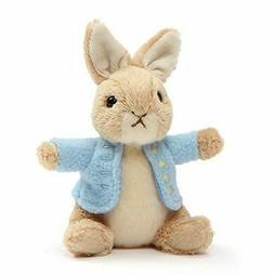 """Gund Classic Peter Rabbit Plush 5"""" Miniature Beanie Toy"""