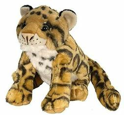 "Wild Republic Clouded Leopard Plush Toy 10"" H"