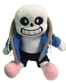Undertale Sans Plush Stuffed Doll 10'' Hugger Cushion Cospla