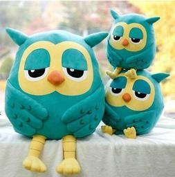 Cotton Plush Owl Cute Stuffed Soft Plush Toy Doll Pillow Chi