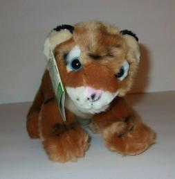 "Wild Republic Cuddlekins Babies Tiger Brown Black Striped 8"""