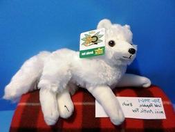 Wild Republic Cuddlekins Mini Arctic Fox beanbag 2015 plush