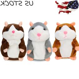 Cute Adorable Funny Speak Talking Record Hamster Mouse Plush