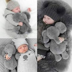 Cute Baby Kids Elephant Lumbar Pillow Long Nose Doll Pillow