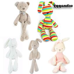 Cute Bunny Rabbit Stuffed Animal Plush Toy Baby Kids Soft Ap