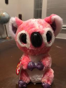 Cute Colorful Koala TY Beanie Boos Plush Stuffed Toys Glitte