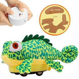 Buyeverything Cute Kawaii Remote Control Plush Toy Robot Car