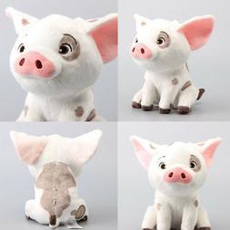 "Cute Moana pet pig Pua Stuffed Plush doll 9"" Gift Soft Toy P"