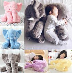 Cute Soft Pillow Elephant Children Plush Toy Doll Baby Kids