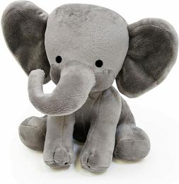 Cute Stuffed Elephant Animal Plush Toy for Baby, Girls, Boys