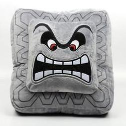 Cute Super Mario Bros Plush Soft Toys Cushion Pillow Thwomp