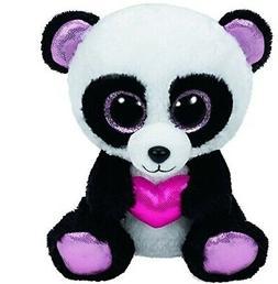 Ty Beanie Boos Cutie Pie The Panda with Heart Plush