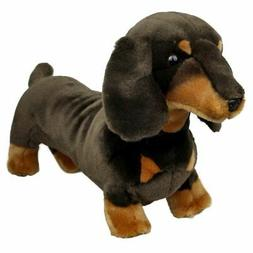Dachshund Sausage Dog soft plush toy Stretch by BOCCHETTA