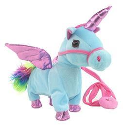My Dancing Unicorn 'Cute Unicorn' Walk Along Toy Stuffed Plu