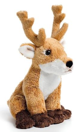 Deer Beanbag Plush Stuffed Animal Toy Animalcraft Demdaco 5.
