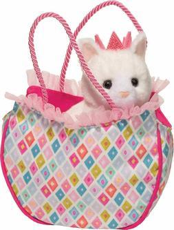 DIAMOND KITTY SAK w/ CAT Plush Stuffed Animal - by Douglas C