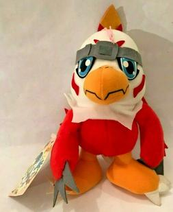 Digimon HAWKMON plush doll BANPRESTO prize toy w/ Japanese t