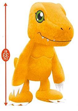 """Banpresto Official Digimon Plush Stuffed Toy 13"""" Tall- Agumo"""