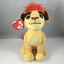 """Ty Beanie Baby ~ Disney The Lion Guard KION 6"""" Plush Toy ~ 2"""