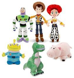 Disney Toy Story Mini Bean Bag Plush Buzz Woody Jessie Rex A