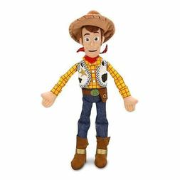 Disney Store Toy Story Woody 18 Inch Stuffed Plush Toy Doll