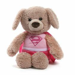 "Gund Dog DC Comics Supergirl Yvette Plush Toy  12"" NEW"