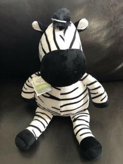 BEDTIME ORIGINALS Domino Zebra Jungle Buddies Plush Stuffed