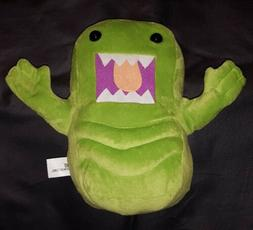 "Domo Ghostbusters Slimer Green 10"" Plush Toy 2015 Kellytoy"