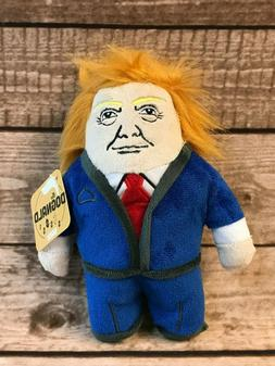donald trump dog toy dognald with squeaker