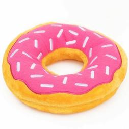 ZippyPaws Donutz Squeaky Plush Dog Toy Zippy Paws Donut Sque