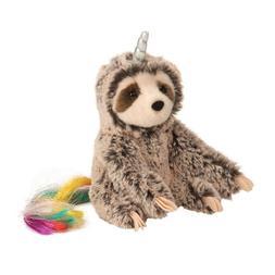 Douglas Slothicorn Plush Toy Stuffed Animal NEW