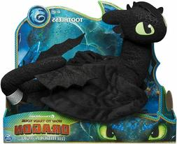 Dreamworks Dragons, Toothless 14-inch Deluxe Plush Dragon Ki