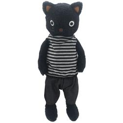 JIARU Stuffed Animals Cats Toys Plush Dressed Dolls with Rem