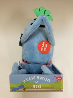 Dumb Ways To Die: DUNCE 2014 Soft Plush Toy w/ Sound BRAND N