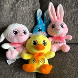 Easter Bunny Rabbit Sheep Duck Personalized Name Plush Toy S