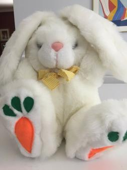 Easter Plush Bunny white Stuffed Soft Toy -Fiesta