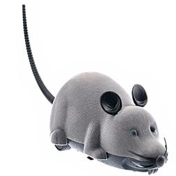 Tinksky Electronic Remote Control Rat Plush Mouse Toy for Ca
