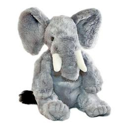 "Elephant soft plush stuffed toy 14""/36cm JUMBO by Bocchetta"