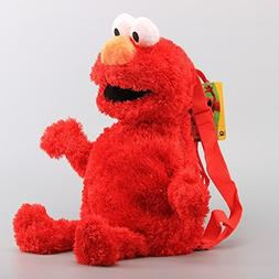 Elmo 18 Inch Backpack Bag Toddler Stuffed Plush Kids Toys