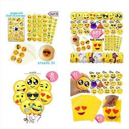 Emoji Party GrownUp Toys Favors Supplies 258 Faces Jumbo Pac