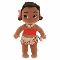 exclusive animators 12 princess moana plush toddler