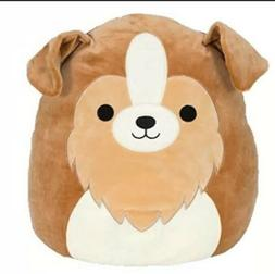 """Extra Large 16"""" Squishmallow Andres The Sheltie Brown Dog"""