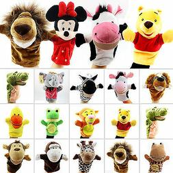 Family Hand Glove Puppets Soft Plush Doll Baby Education Car