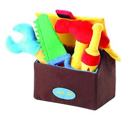 My First Tools Plush Sound Toys And Carrier by Animal House