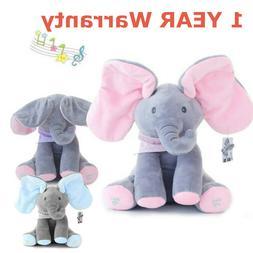 Flappy Ear The Elephant Peek-a-boo Flap Liam Lena Sing & Pla