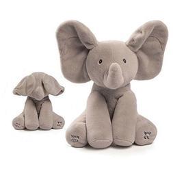 Flappy The Elephant Plush Toy Gund Baby Animated peek a boo